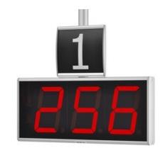 Сегментное табло оператора DW01